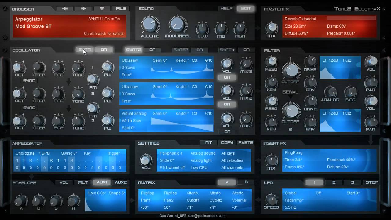 ElectraX VST Electra 2 Cracked Full Free Latest (Mac+Win) 2021
