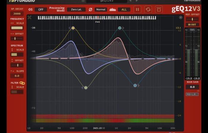 TBProAudio gEQ12 v3.1.3 Win-MacOSX Free Crack  {Latest}